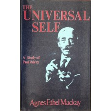 The Universal Self: A Study of Paul Valéry